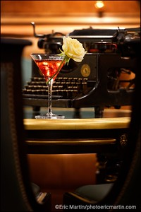 HOTEL RITZ. Le Penelope Furr. Un cocktail créé par le chef barman du Bar Hemingway: Colin Peter Field