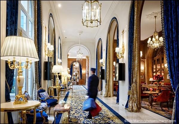 HOTEL RITZ. LE SALON PROUST ET LA GRANDE GALERIE.