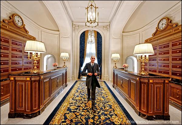 HOTEL RITZ. Le chef concierge: Michel Battino.