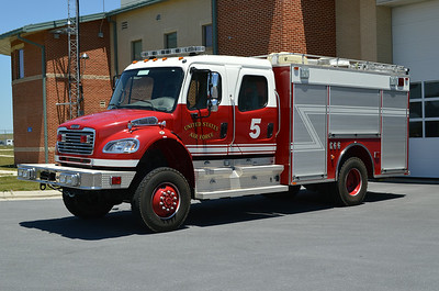 Rescue 5 is a 2008 Freightliner M2 4x4/Pierce, sn- 20798-06.