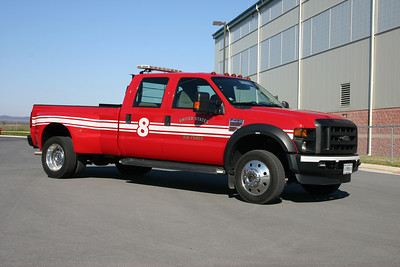 Utility 8 is a 2008 Ford F-450.