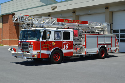Truck 16 is a 2012 Emergency One Typhoon, 1250/430/30/30, 75', sn- 136924.
