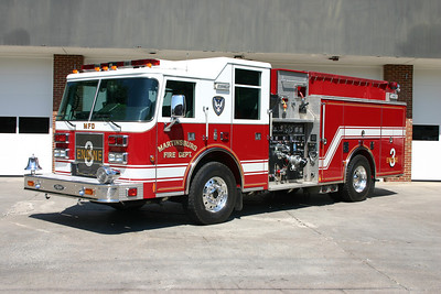 Engine 3's 2001 Pierce Saber, 1250/750, sn- 12257.