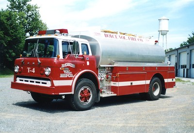 Former Tanker 4, a 1980 Ford C/Altec, 500/2200/300.  ex - Bedington, West Virginia.  Sold to a private owner in 2006.