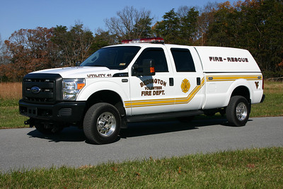 Utility 41 is another truck donated by the Sheriff who won the lottery, a 2010 Ford F-350.