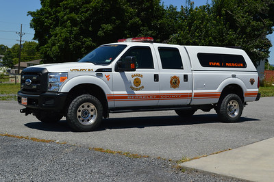 Another 2010 Ford F-350 donated by the Sheriff who won the lottery is Utility 6-1.