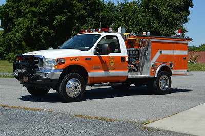 Attack 60 is a 2003 Ford F-350/1981 Pierce/Antietam, 300/250, sn- 1639.  ex - Citizens VFD (Charles Town, WV).