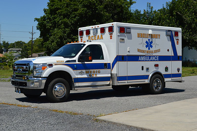Medic 692 is a 2010 Ford F-350/2011 McCoy Miller owned by Berkeley County.  Donated by the Sheriff who won the lottery.