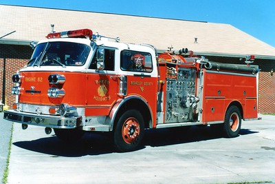 Former Engine 62, a 1981 American LaFrance/1989 ALF, 1500/750.  ex - department in New Jersey.