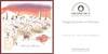 HÉLOÏSE DE V.  À l'Heure de la Cueillette Intense 2015 France (recto-verso card 10 x 10 cm) 'Voyages parfumés en Provence'