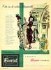 HARPE'S Escorial 1949 Argentina 'Cita en la octava Maravilla'