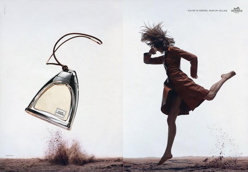 Galop d'HERMÈS 2016 France spread 'Parfum sellier'