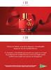 CAROLINA HERRERA CH 2017 Spain (El Corte Inglés stores) recto-verso invitation card 8 x 5,5 cn