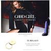 CAROLINA HERRERA Good Girl 2016 Spain (San Remo stores) format 20 x 20 cm <br /> 'The new feminine fragrance - Tu regalo - Un exclusivo espejo...'