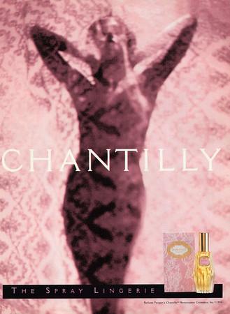 PARFUM PARQUET's Chantilly by Renaissance Cosmetics 1994 US 'The Spray Lingerie'