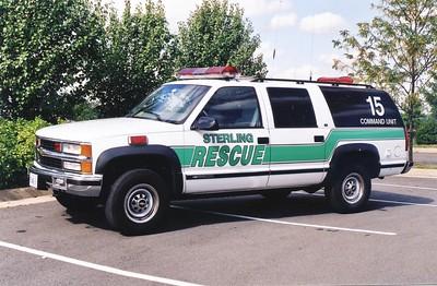 Former Command 15, a 1999 Chevy Suburban/FastLane.