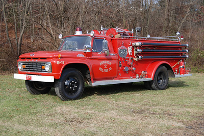 Engine 3-11 is the department's antique, a 1963 Ford 600/Central, 500/500, sn- 23949.