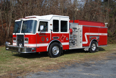 Engine 3-13 is this 2006 KME Predator, 1500/1000, sn- GSO 6384.
