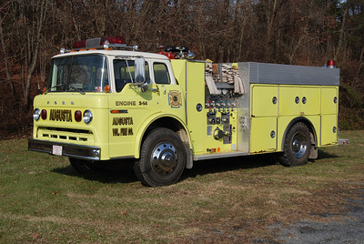 This 1979 Ford C/1980 4-Guys, 750/1000, sn- F318 is Engine 3-14.  ex - Mt. Storm, West Virginia (Grant County).