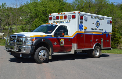 Ambulance 5-2 is this 2010 Ford F-450/Southeastern Specialty Vehicles.