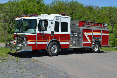 This 2004 HME Silver Fox, 1250/1100, sn- 88828 operates as Engine 5-12.  Sold to a fire truck broker in 2016.