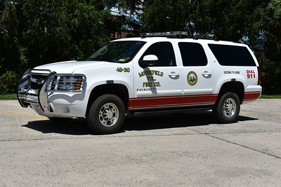 Utility 46-2 for Moorefield, West Virginia is this 2007 Chevrolet Suburban.
