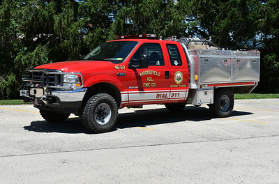 Moorefield's Brush 46 is a 2004 Ford F350 built by Finley.  250/250/20.