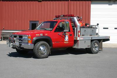 Brush 4-62, a 1997 Chevrolet Cheyenne/Truck Craft/Shade Equipment 200/250/5 for Mathias-Baker, WV.