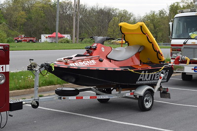 Bakerton, West Virginia - one of several water rescue apparatus.