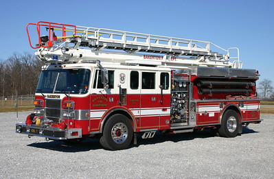 Engine 7-1 is a 1992 Pierce Lance, 1500/500/40, 65', sn- E7229.  ex - Bellmore, New York. ex - Glasgow, Virginia.  Sold to the Fairfield VFD in Erie County, PA in late 2016.
