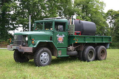Ex - Brush 7 was a 1968 Kaiser Deuce 1/2 6x6/2010 FD with a 600 gallon water tank.  Sold to the Blue Ridge Mountain, West Virginia FD in 2014.