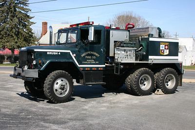 Former Brush 4 is a 1967 Kaiser M35/FD, 300/875, sn- H4847.  Sold to Bakerton, West Virginia in 2014.  ex - Military dump truck ex - Jefferson County, West Virginia