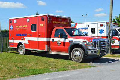 Hollywood Casino at Charles Town Races - Charles Town, West Virginia.  Ambulance 920 is a Ford F-450.