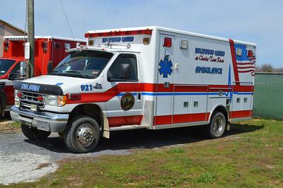 Ambulance 921 is a Ford E-450/Life Line.