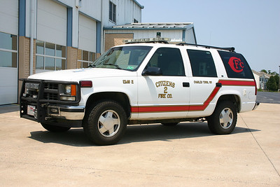EMS 2 was this 1998 Chevy/Odyssey that was sold in 2014 to Slanesville, West Virginia.