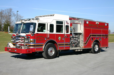 Rescue Engine 3 is a nice 2007 Pierce Dash, 2000/850/30, sn- 19157.
