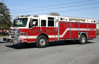Rescue 4 is this sharp 2008 Pierce Velocity, sn- 20843.