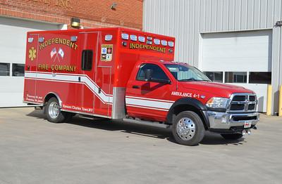 Ambulance 4-1 is a twin to Ambulance 4.