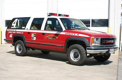Former Utility 4 is a 1994 Chevy Suburban.