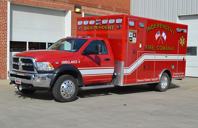 Ambulance 4 is one of two similar 2013 Dodge 4500 4x4/PL Custom's.