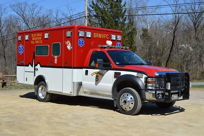 Ambulance 5-2 is a 2007 Ford F-450/Horton.
