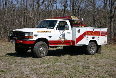 Former Brush 5 was bought from a department in Texas, a 1996 Ford F-350/Stahl/CET, 120/200.