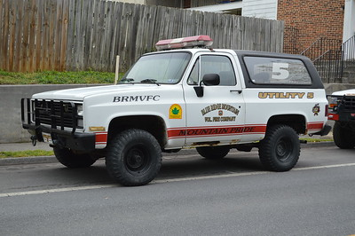 Blue Ridge Mountain Volunteer Fire Department - Utility 5 - Chevrolet.  Out of service as of 2018.