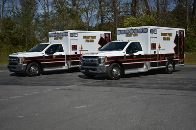 Summit Point twins - Medic's 893 and 894 - 2017 Ford F350/AEV.