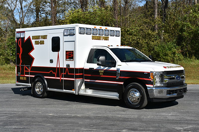 Medic 894 from Summit Point, a 2017 Ford F350/2018 AEV.