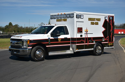Summit Point purchased two identical 2017 Ford F350/2018 AEV ambulances in 2018 for use as Medic's 893 and 894.  This is Medic 893 photographed on one of the tracks.