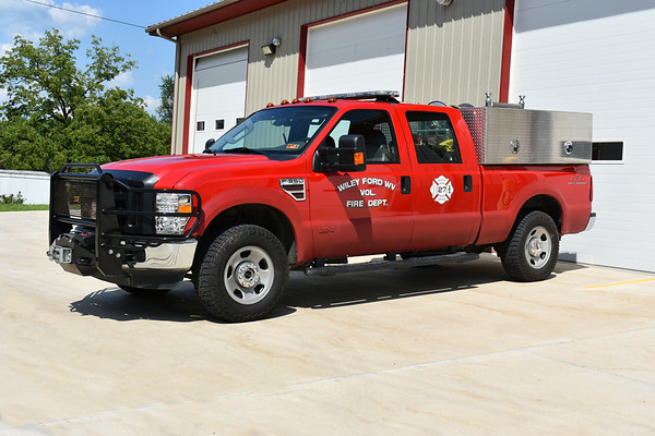 Brush 27-61 from Wiley Ford, West Virginia is this 2009 Ford F350 4x4/FD which carries 175 gallons of water and 10 gallons of foam.