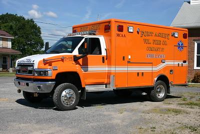 Fort Ashby, WV - Ambulance 37-72 -2007 GMC C5500 4x4/Horton