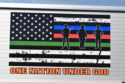 The mural found on both sides of Brush 37 from Ft. Ashby, WV - a 2016 Chevrolet/Finley Fire/CET.