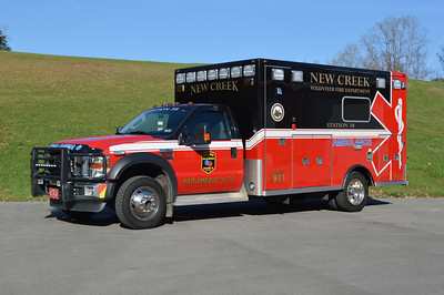 Ambulance 38-70 from New Creek, WV - 2009 Ford F450/LifeLine.